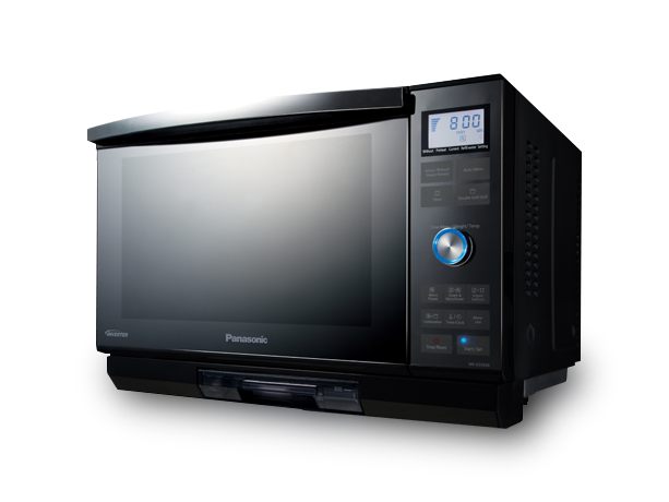 Black Panasonic grill convection oven