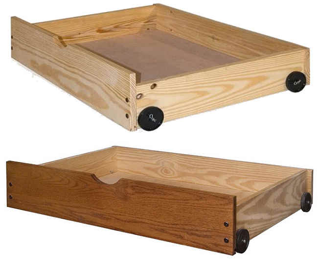 Under Bed Drawers On Wheels (DIY Project Download) – Woodworking ...