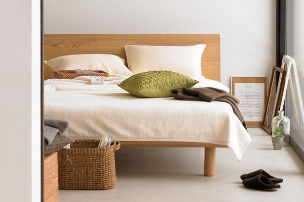 Muji bed in setting