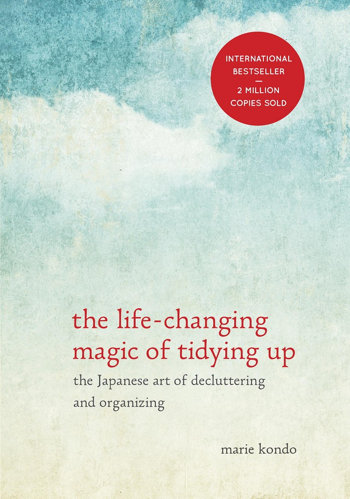 Book cover for The life-changing magic of tidying up by Marie Kondo