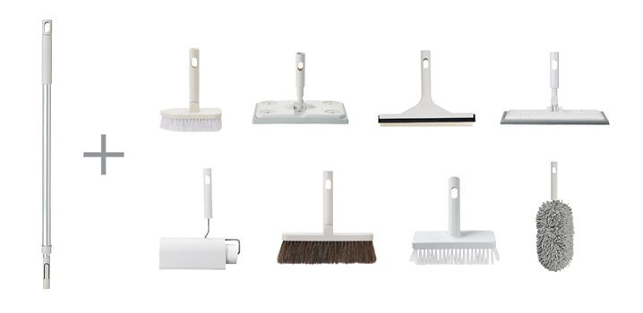 Muji cleaning system