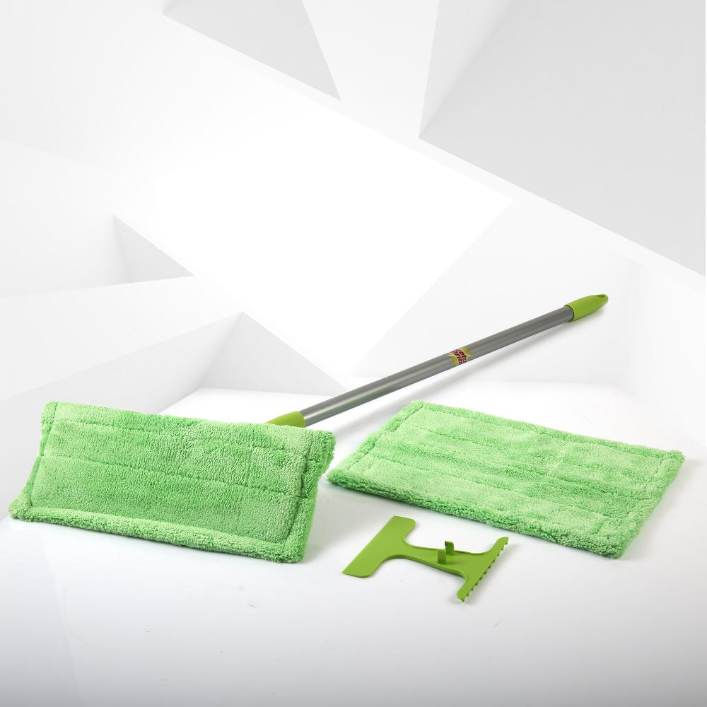 Green 3M ScotchBrite microfiber cloth