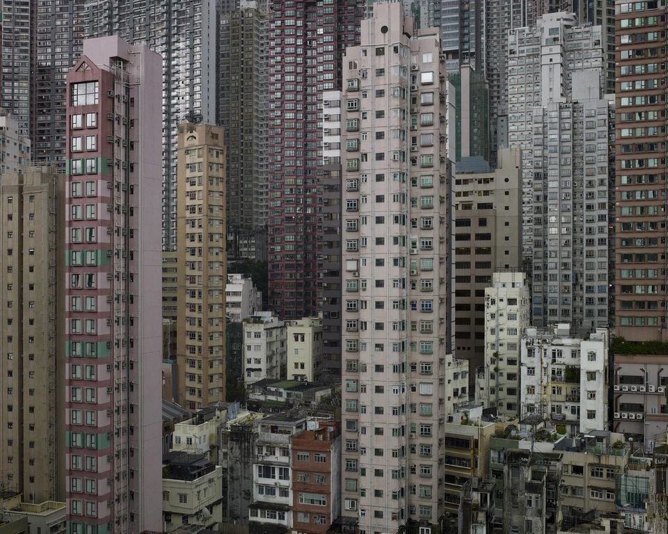 Hong Kong buildings - Architecture of Density by Michael Wolf