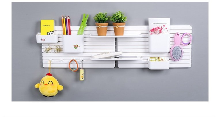 DIY Multi function storage shelves