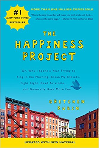 happiness project book cover