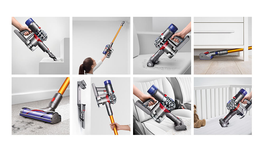 Dyson V8 cord free vacuum and parts
