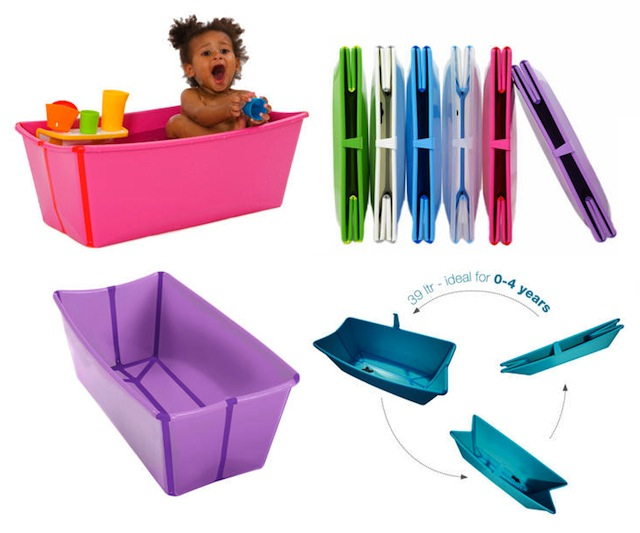 Flexi bath by Stokke color options