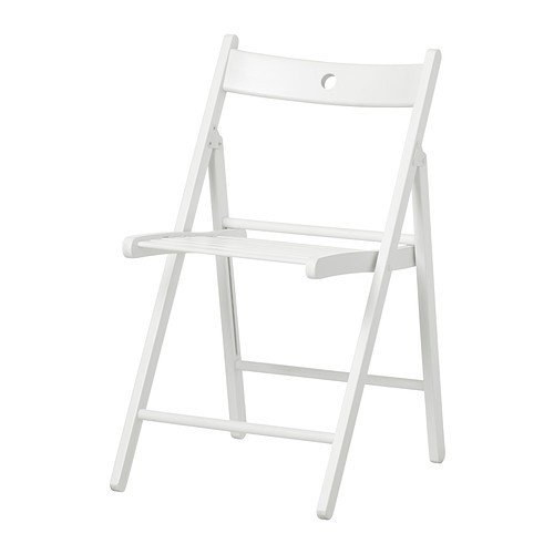 Ikea Terje Folding Chair White
